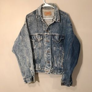 Levi's | Distressed Vintage Jean Jacket XL